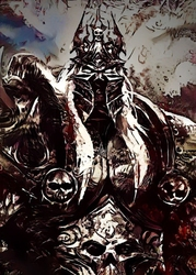 Legends of bedlam - arthas, warcraft - plakat wymiar do wyboru: 50x70 cm