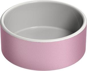 Miska na wodę dla zwierząt Naturally Cooling Ceramics różowa M