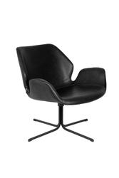 Zuiver fotel lounge nikki czarny 3100065