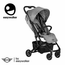 MINI by Easywalker Buggy XS Wózek spacerowy z osłonką przeciwdeszczową Soho Grey