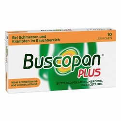 Buscopan plus Suppos.