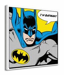 Batman Quote - Obraz na płótnie