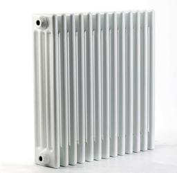 Grzejnik pokojowy retro - 4 kolumnowy, 600x800, białyral - biały