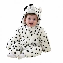 Piżama onesie kigurumi dla dzieci miś kropki