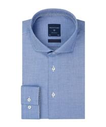 Niebieska koszula profuomo super slim fit 43