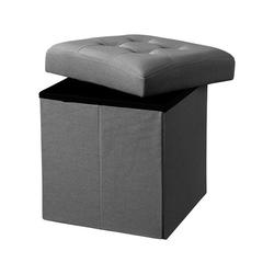 Pufa z pojemnikiem kids concept - dark grey