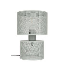 Zuiver :: lampa stołowa grid szara