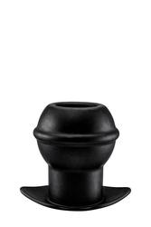 Plug analny otwarty tunel menzstuff czarny | 100 oryginał| dyskretna przesyłka