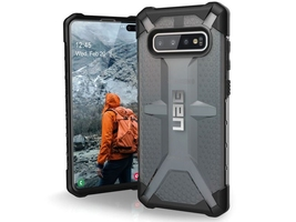 Etui uag urban armor gear plasma do samsung galaxy s10 plus ash - czarny
