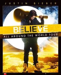 Justin bieber world tour - plakat