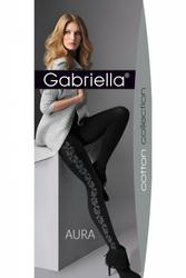 Gabriella 377 aura nero rajstopy