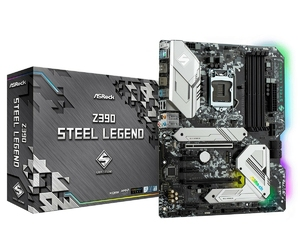 ASRock Płyta główna Z390 Steel Legend s1151 4DDR4 HDMIDP M.2 ATX