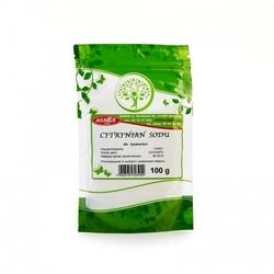 Cytrynian sodu 100g