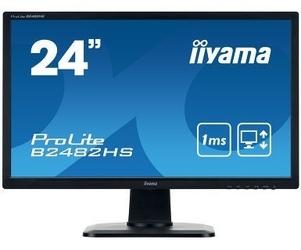 Iiyama monitor 24 cali b2482hs-b1 1ms,pivot,vga,hdmi,dvi