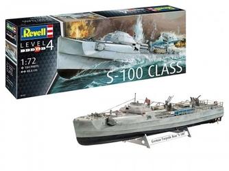 Revell model plastikowy niemiecka szybka łódź atakująca craft s-100 class