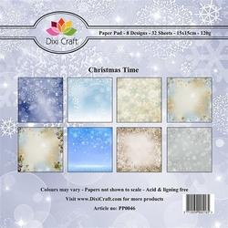 Papier 15x15 cm Christmas Time - KLY