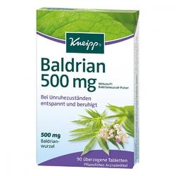 Kneipp baldrian 500 tabletki powlekane