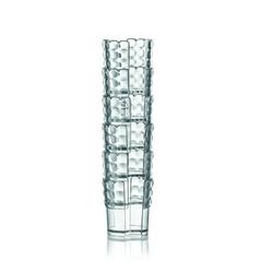 Guzzini - tiffany - uchwyty na kubki jednorazowe 6 szt., transparentne - biały