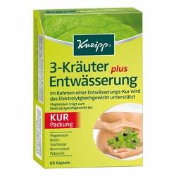 Kneipp 3 ziołowe kapsułki odwadniające