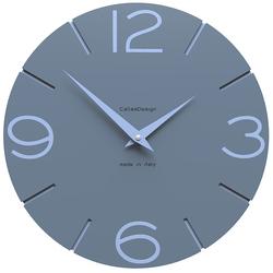Zegar ścienny Smile CalleaDesign niebieski 10-005-44