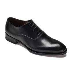 Eleganckie czarne buty typu oxford arbiter by alfonso marciano 44