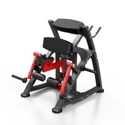 Maszyna na wolny ciężar na dwugłowy uda mf-u012 - marbo sport - czarny  antracyt metalic