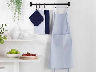 Fartuch kuchenny 100 bawełna altom design kolekcja monokolor błękitny