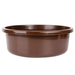 Miska na pranie  łazienkowa plastikowa bentom classic brązowa 20 l