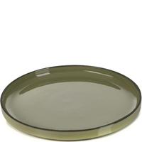 Talerz deserowy, płaski z rantem 21 cm caractere revol kardamon rv-652801-4