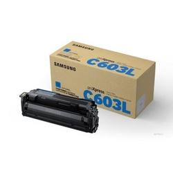 Wkład z błękitnym tonerem o wysokiej wydajności samsung clt-c603l