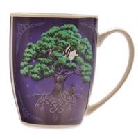 Drzewo życia - porcelanowy kubek z nadrukiem projekt: lisa parker