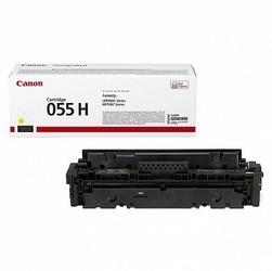 Canon Toner CLBP Cartridge 055H żółty 3017C002