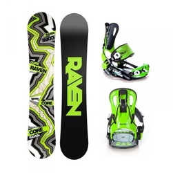 Zestaw raven core carbon 2019 + raven ft 270 green