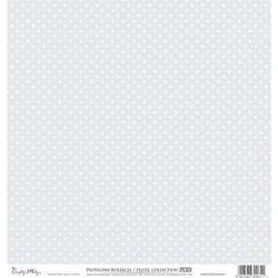 Ozdobny papier 30,5x30,5 cm - szary - sza