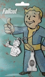 Fallout nuka cola - nieśmiertelnik