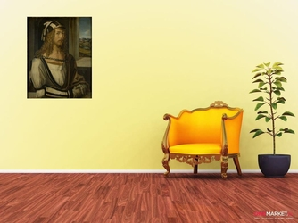 autoportret - albrecht durer ; obraz - reprodukcja