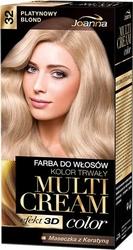 Joanna multi cream color, farba do włosów, 32 platynowy blond