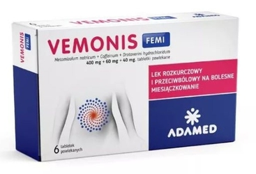 Vemonis femi x 6 tabletek