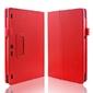 Czerwone etui typu stand cover lenovo tab 2 a10-30 + szkło hartowane - czerwony
