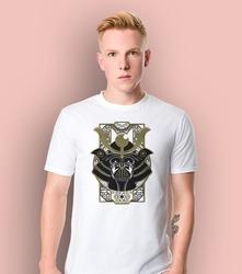 Gwiezdne wojny - vader ornament t-shirt męski biały l