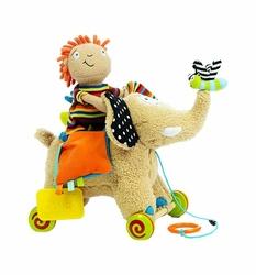 Zabawka sensoryczna słonik do ciągnięcia, Dolce