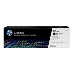 HP oryginalny toner CE320AD, black, 4000 2x2000s, 128A, HP LaserJet Pro CP1525n, 1525nw, CM1415fn, 1415fnw, Dual pack