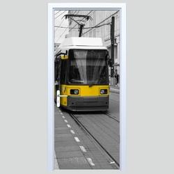 Fototapety na drzwi tramwaj 568a