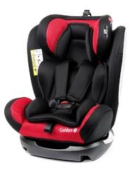 Babysafe golden czerwony fotelik 0-36kg isofix + organizer