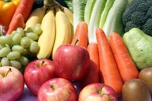 Fototapeta na ścianę warzywa na straganie fp 871