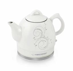 Esperanza Bezprzewodowy elektryczny czajnik ceramiczny Alamere 1,2L