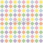 Obraz na płótnie canvas pastelowy wzór w romby