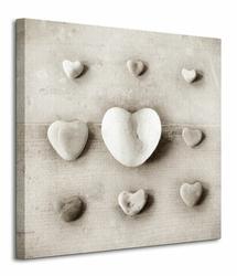 Stone Hearts - Obraz na płótnie
