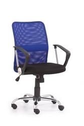 Fotel obrotowy tony niebieski