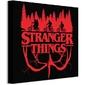 Stranger things logo flip - obraz na płótnie